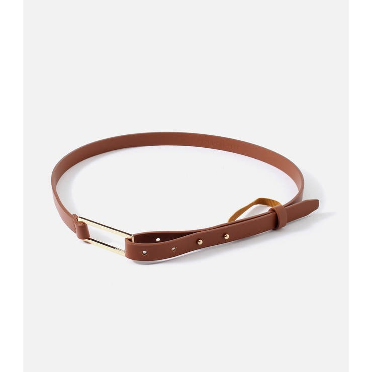 SQUARE BUCKLE BELT | AZUL BY MOUSSY | 詳細画像1