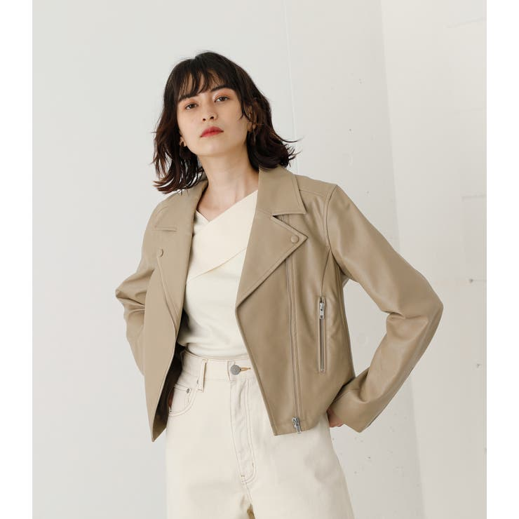 BASIC ECO LEATHER | AZUL BY MOUSSY | 詳細画像1