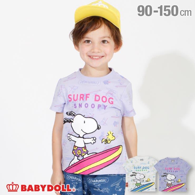 通販限定 スヌーピー Tシャツ   BABYDOLL   詳細画像1