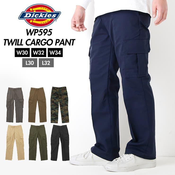 Dickies ディッキーズ WP595 TWILL CARGO PANT   BACKYARD FAMILY   詳細画像1