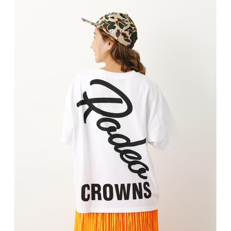 スラッシュロゴTシャツ | RODEO CROWNS WIDE BOWL | 詳細画像1