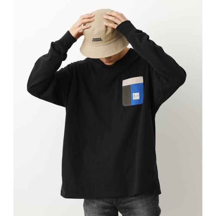 マルチポケットL/S Tシャツ   RODEO CROWNS WIDE BOWL   詳細画像1