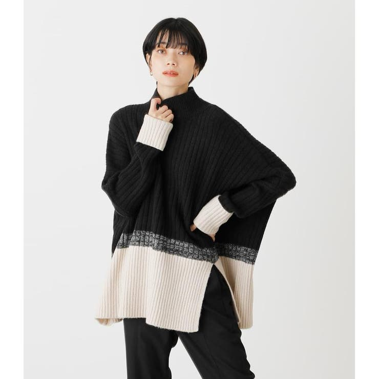 COMBINATION LOOSE KNIT   AZUL BY MOUSSY   詳細画像1