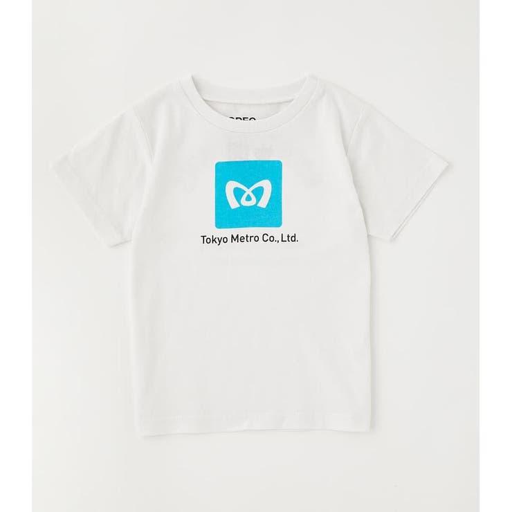 キッズTokyo Metro Trip Tシャツ | RODEO CROWNS WIDE BOWL | 詳細画像1