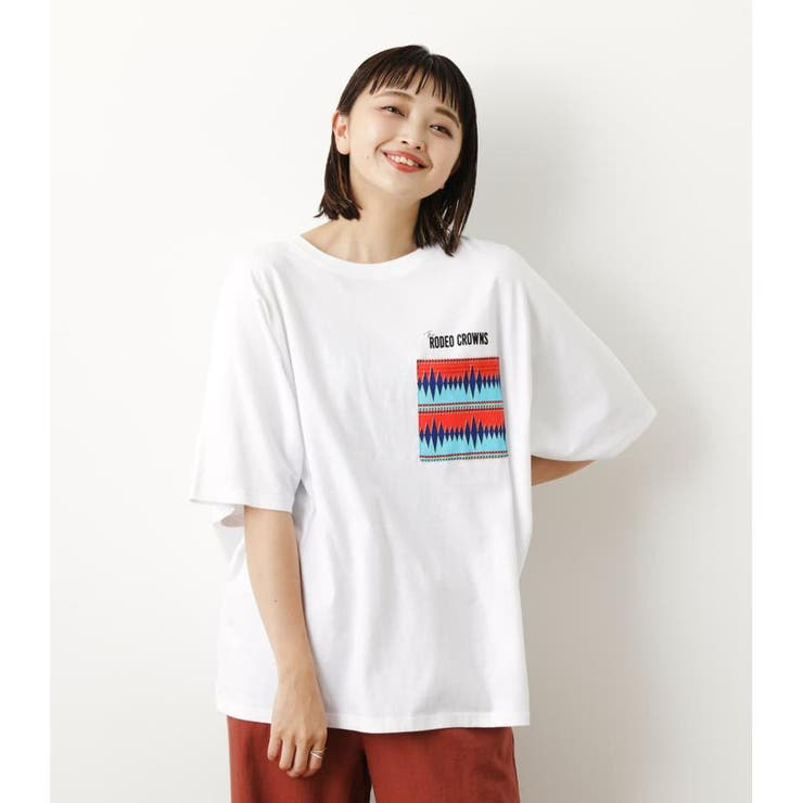 RODEO CROWNS WIDE BOWLのトップス/Tシャツ   詳細画像