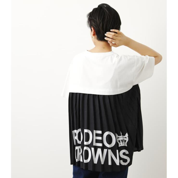 (WEB限定)バックプリーツトップスWL   RODEO CROWNS WIDE BOWL   詳細画像1