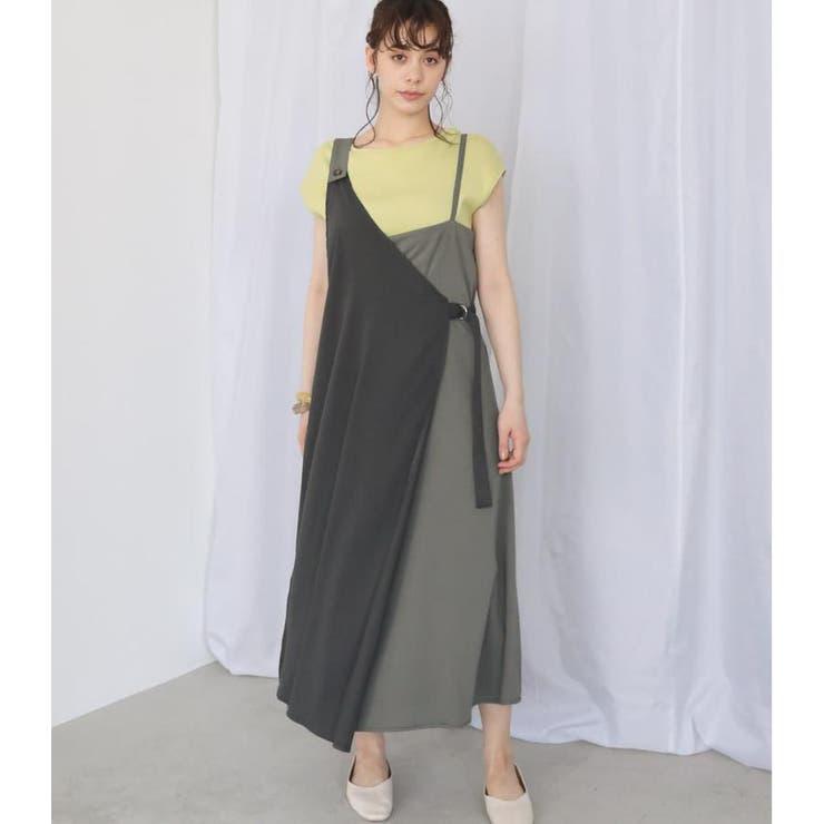 アシメジャンパースカート   AVAN LILY   詳細画像1
