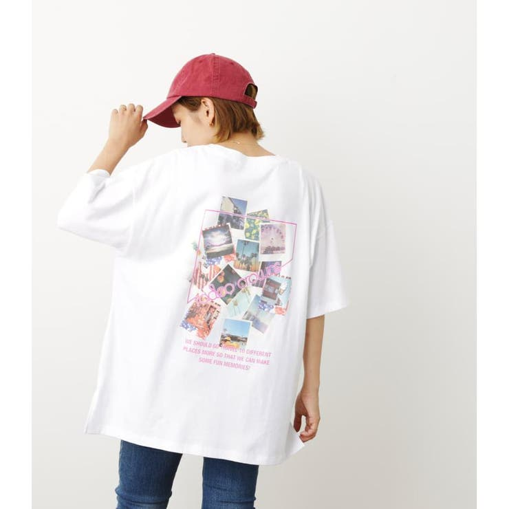 (WEB限定)ビッグPHOTO TシャツWL | RODEO CROWNS WIDE BOWL | 詳細画像1