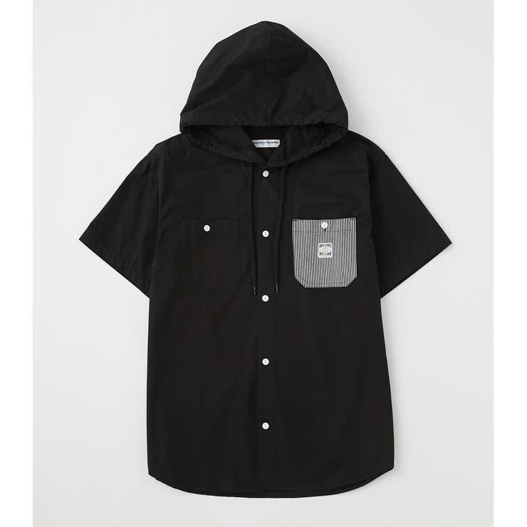フードワークシャツ | RODEO CROWNS WIDE BOWL | 詳細画像1