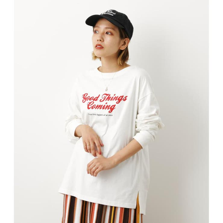 GOOD THINGS L/S Tシャツ   RODEO CROWNS WIDE BOWL   詳細画像1