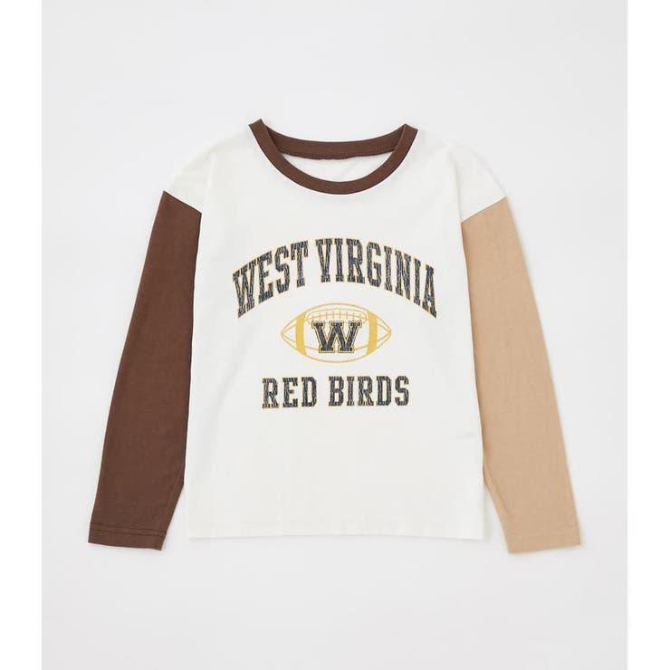 キッズ WV ブロッキングL/S Tシャツ   RODEO CROWNS WIDE BOWL   詳細画像1