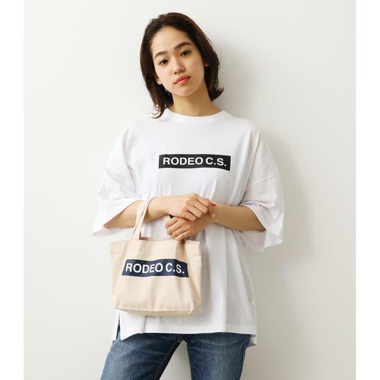 (WEB限定)BOX LOGOTシャツ&ミニトート   RODEO CROWNS WIDE BOWL   詳細画像1