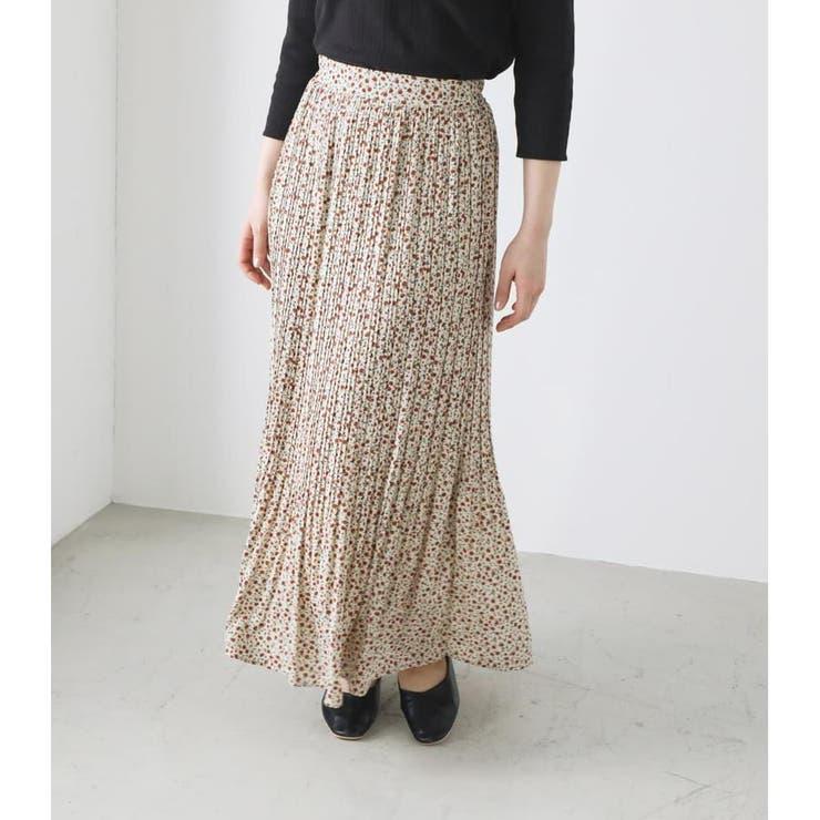 ROSIE FLOWERプリーツスカート | AVAN LILY | 詳細画像1