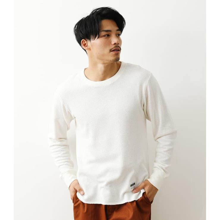 パイナップルワッフル L/S Tシャツ   RODEO CROWNS WIDE BOWL   詳細画像1