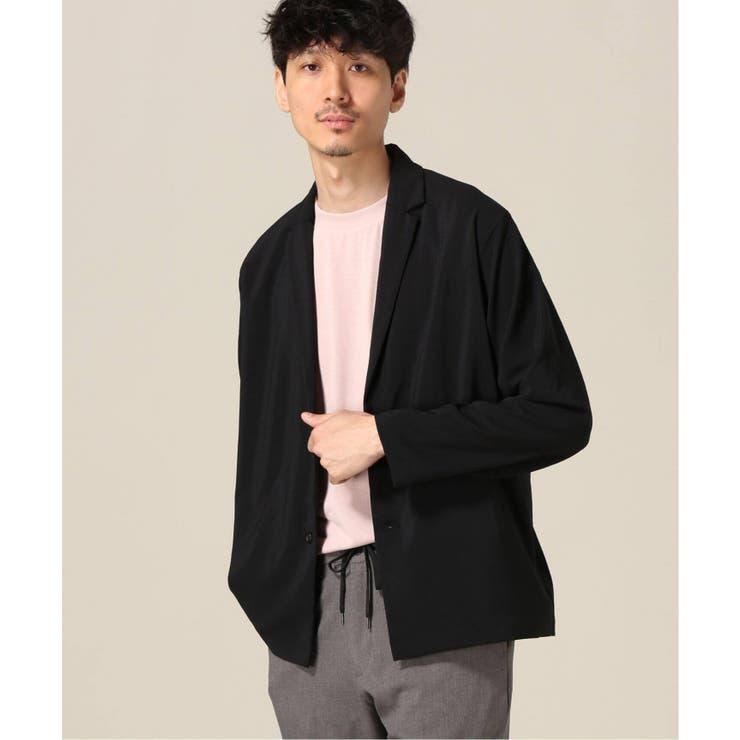 [417 EDIFICE]ドライタッチイージーケア2Bシャツジャケット   B.C STOCK   詳細画像1