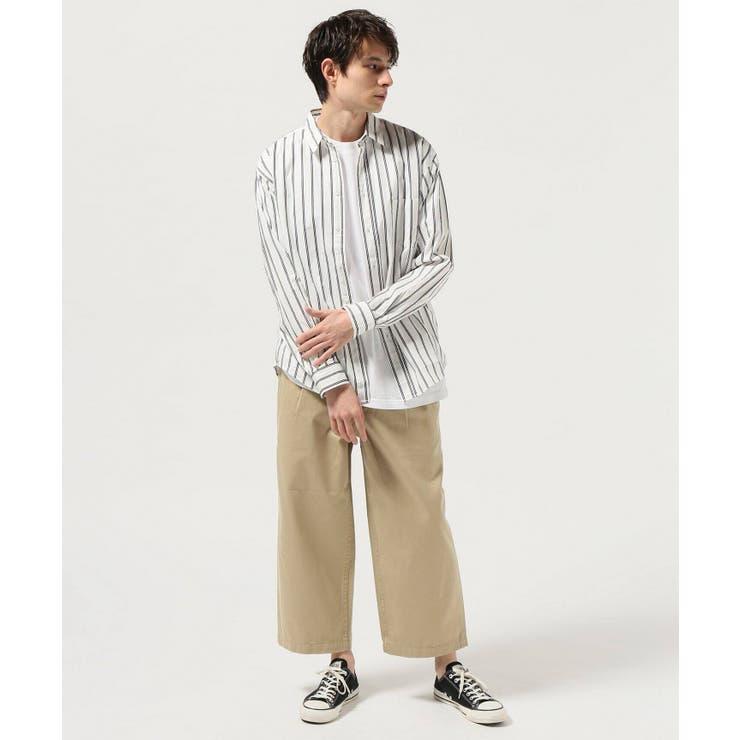 <JOURNAL STANDARD>ドビーストライプ レギュラーシャツ | B.C STOCK | 詳細画像1