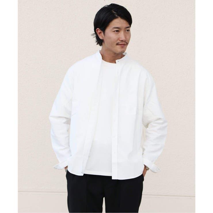 EASY LAZY OXバンドカラーシャツ | B.C STOCK | 詳細画像1