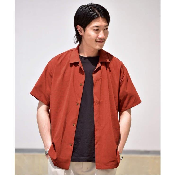 ドライタッチシャンブレーフレンチカラーシャツ | B.C STOCK | 詳細画像1