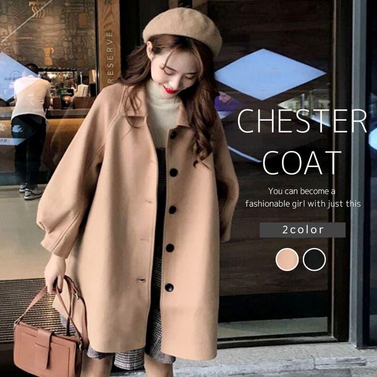 【bifrost】ポワン袖ボタンコート【2021秋冬商品】【韓国ファッション】 | Bifrost | 詳細画像1