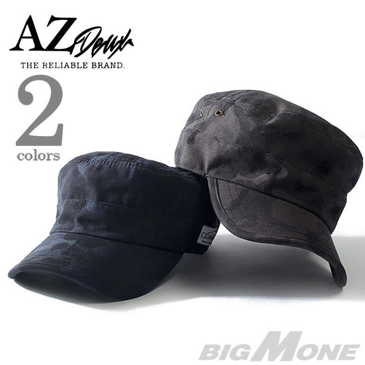 大きいサイズ メンズ AZ DEUX カモフラワークキャップ【帽子】【秋冬新作】714-169013 大きいサイズのメンズファッション帽子 キャップ ハット カジュアル アメカジ ストリート