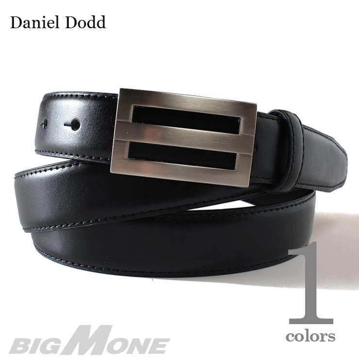 大きいサイズ メンズ DANIEL DODD ビジネスレザーロングベルト【ロングサイズ】azbl-030l 大きいサイズのメンズファッション ベルト サスペンダー カジュアル お兄系 レザー おしゃれ