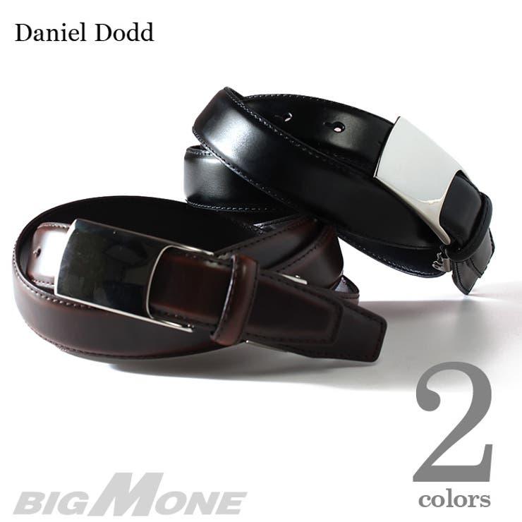 大きいサイズ メンズ DANIEL DODD ビジネスレザーロングベルト azbl-034l 大きいサイズの メンズファッションベルト サスペンダー カジュアル お兄系 レザー おしゃれ