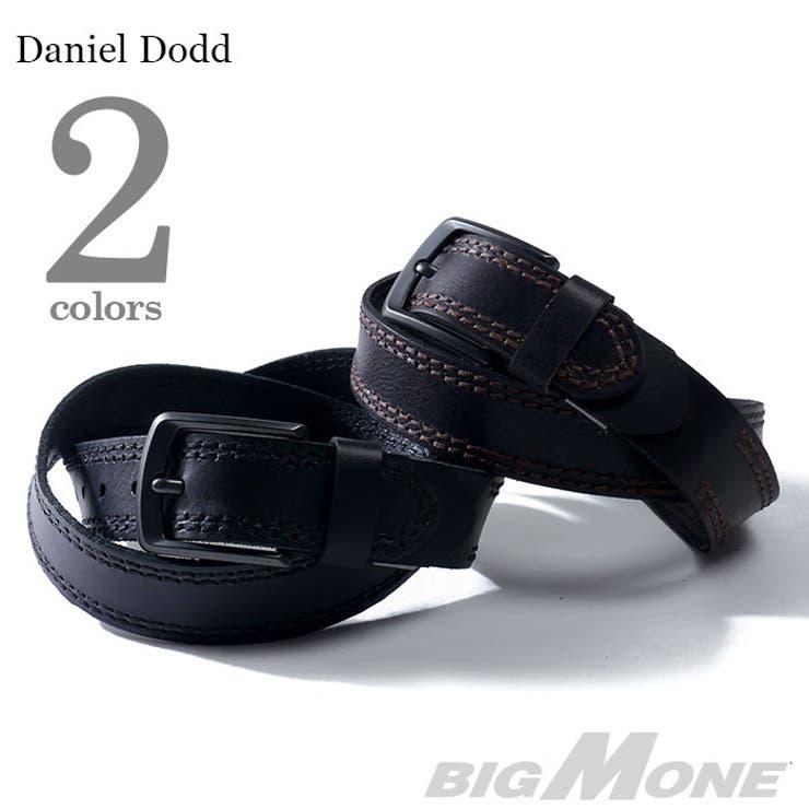 大きいサイズ メンズ DANIEL DODD カジュアルロングレザーベルト【ロングサイズ】azcl-036l 大きいサイズのメンズファッション ベルト サスペンダー カジュアル お兄系 レザー おしゃれ