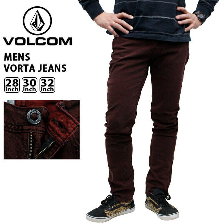volcom-a1931403 ボルコム メンズ ボトムス VOLCOM A1931403 VORTA JEANS | アメカジ デニム ジーンズ ジーパン ロングパンツ ブランド スケボー スケートボード かっこいい おしゃれ 男性 ストリート 伸縮 ストレッチ スリム ストレート volcom ヴォルコム ファッション | 詳細画像