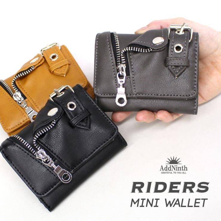 ライダースミドル財布   詳細画像