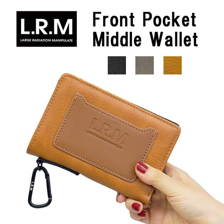 LRM カードポケット付き ミドル財布   epic エピック   詳細画像1