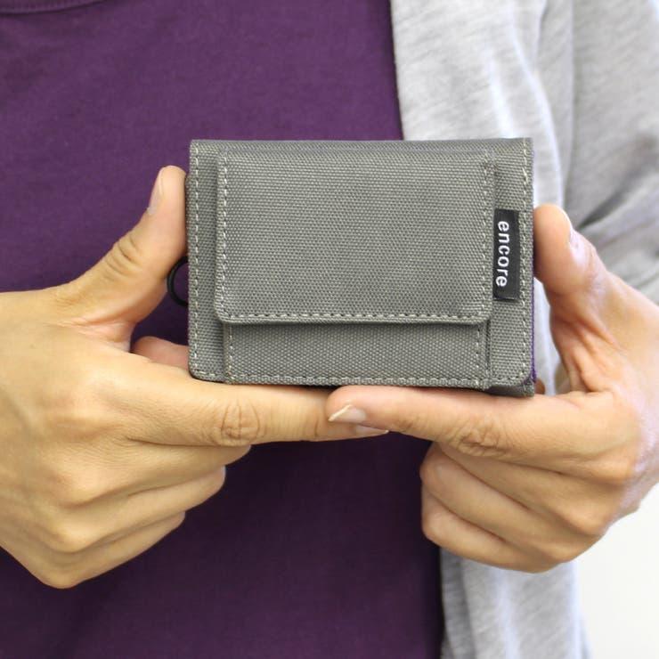 撥水三つ折りミニ財布ra190550 | 詳細画像