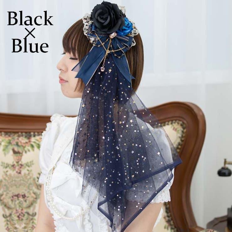 きらめきチュールののヘッドドレス イベントコスチューム ロリータ | BODYLINE | 詳細画像1