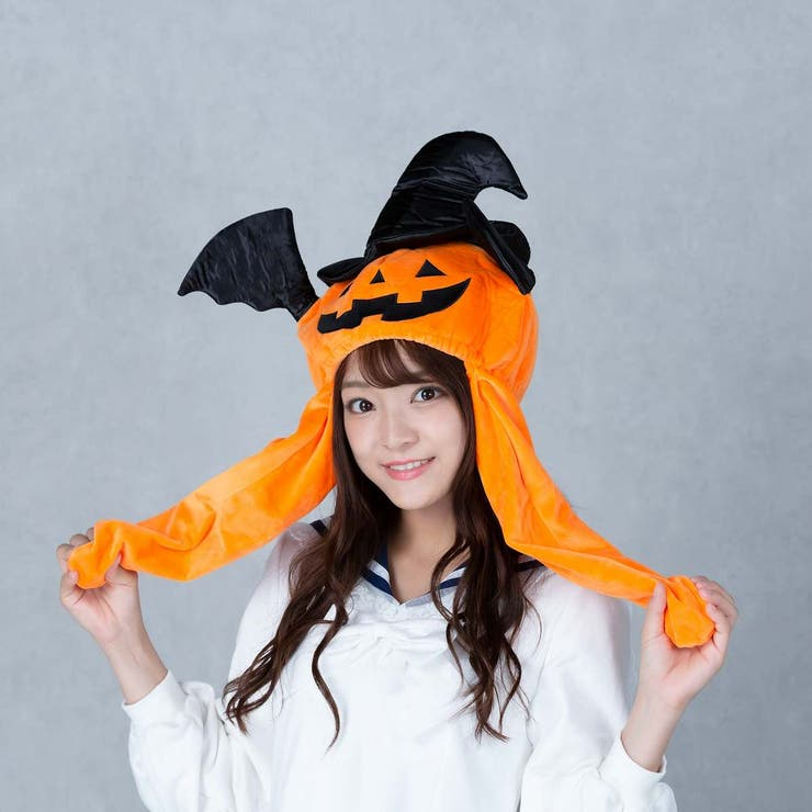 ハロウィン コスプレ かぼちゃピコ耳帽子 | BODYLINE | 詳細画像1