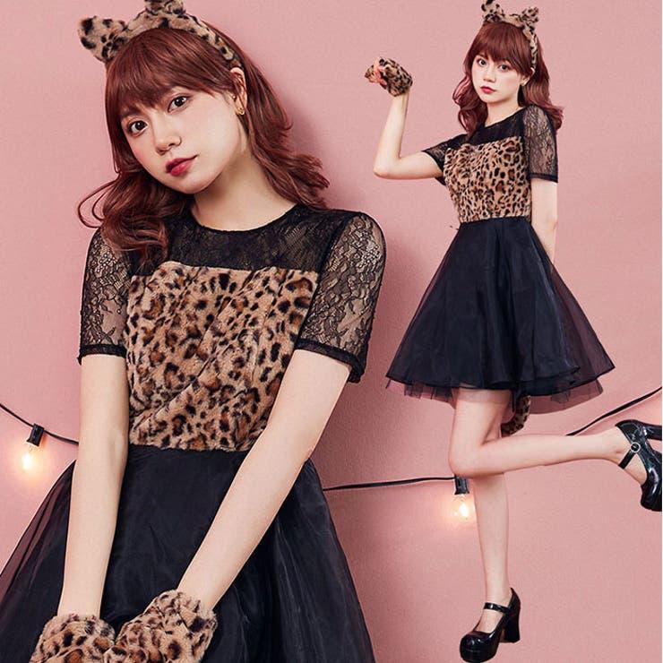 ハロウィン コスプレ レオパードドレス   BODYLINE   詳細画像1