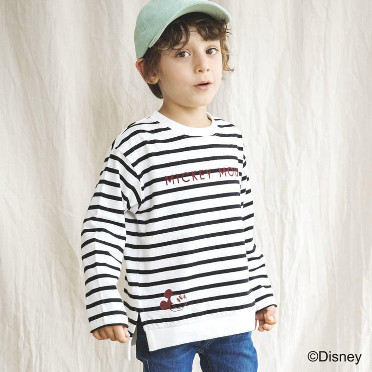 【Disney / ディズニー】前後プリント長袖Tシャツ   BRANSHES   詳細画像1