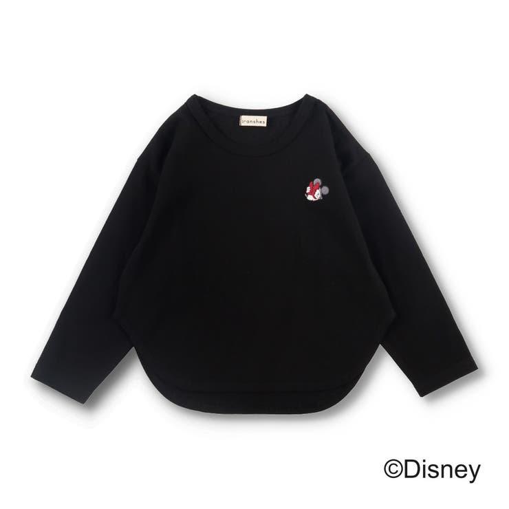 【ミニーマウス】ワンポイント刺繍長袖Tシャツ | BRANSHES | 詳細画像1