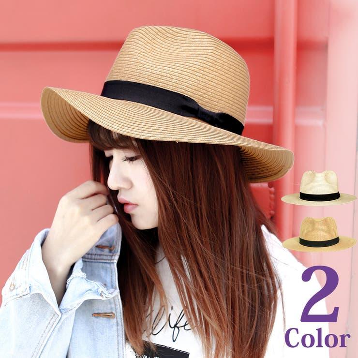 定番人気!中折れデザインのストローハット 帽子 レディース | Brightlele | 詳細画像1