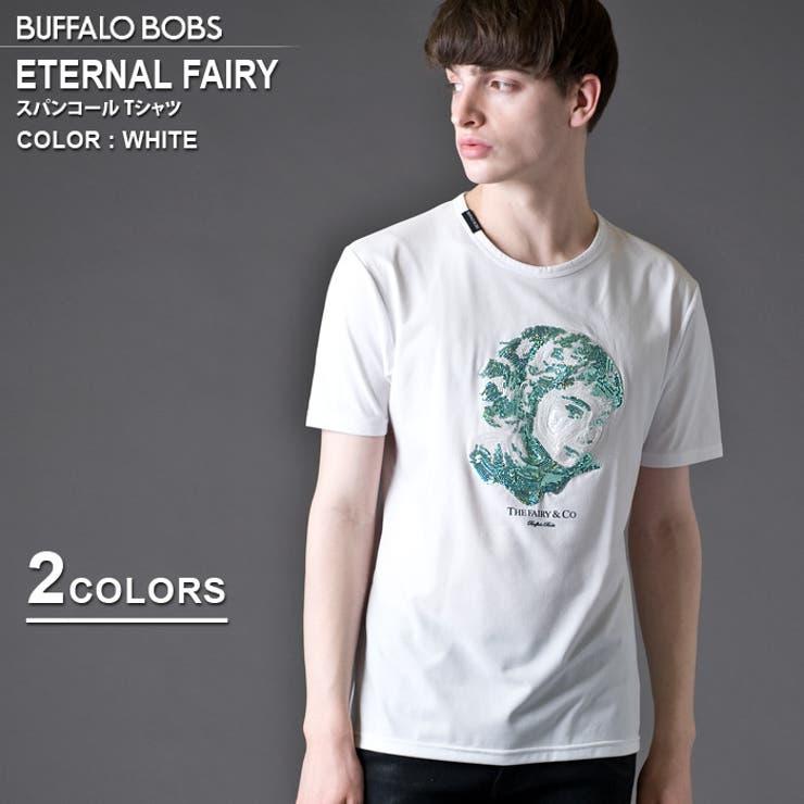 BUFFALOBOBSバッファローボブズETERNALFAIRY(エターナルフェアリー)スパンコールTシャツ | 詳細画像