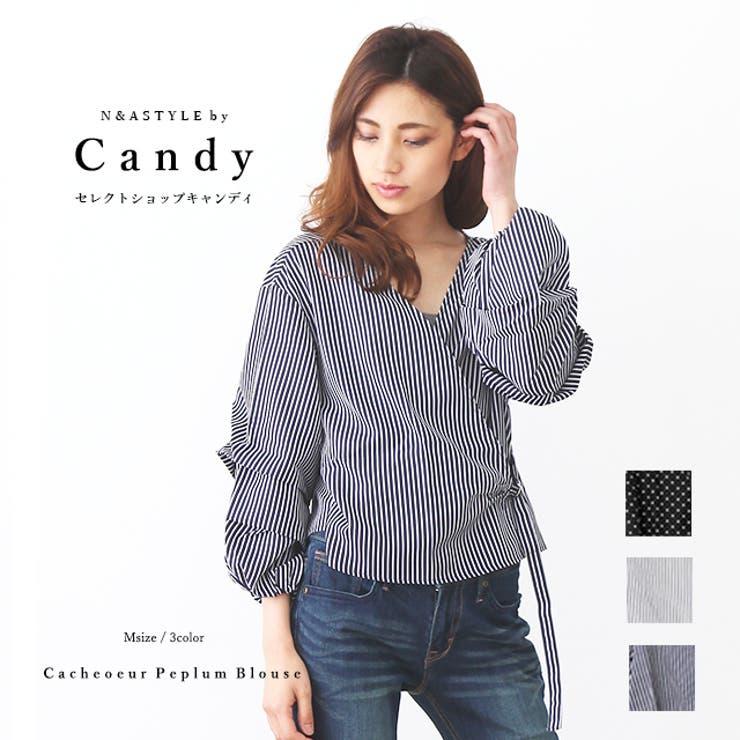カシュクール ブラウス シャツ   Select Shop Candy   詳細画像1