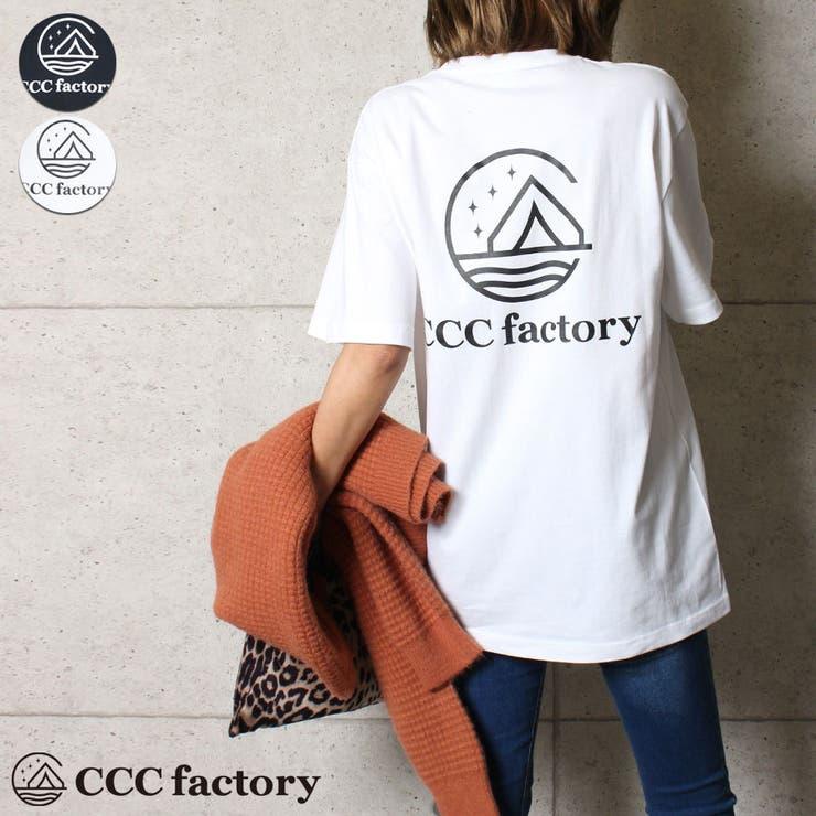 0001 CCCfactoryロゴTシャツ | CELL | 詳細画像1
