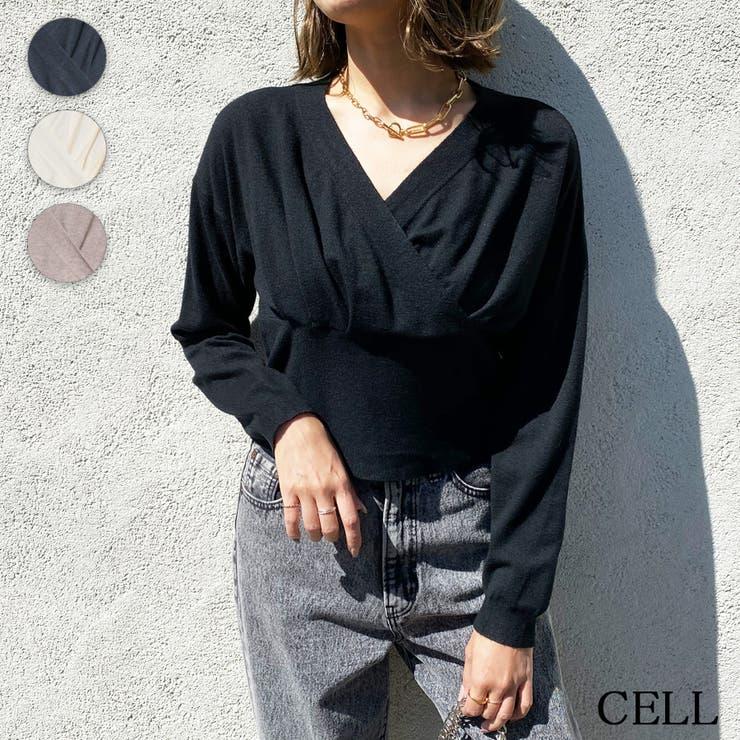 C3484 カシュクールニット | CELL | 詳細画像1
