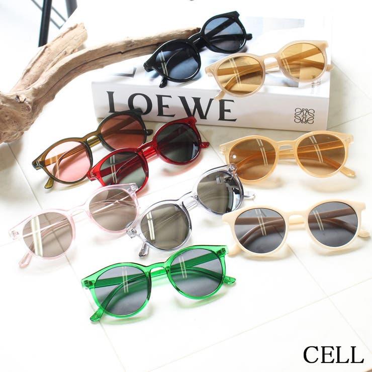 C7494 ソフトラウンドサングラス | CELL | 詳細画像1