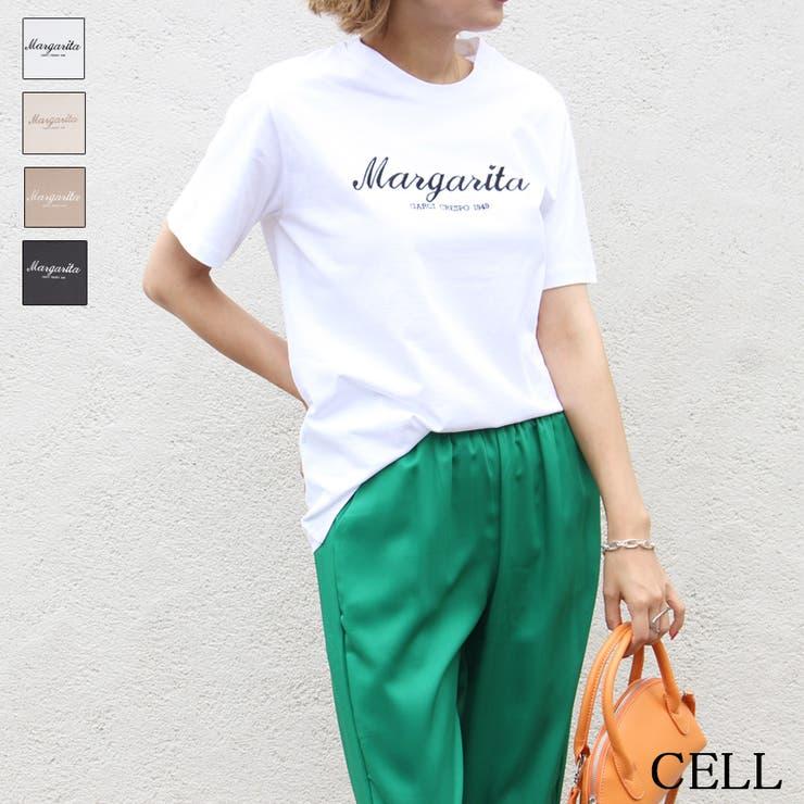 MY53 Margarita刺繍Tシャツ   CELL   詳細画像1