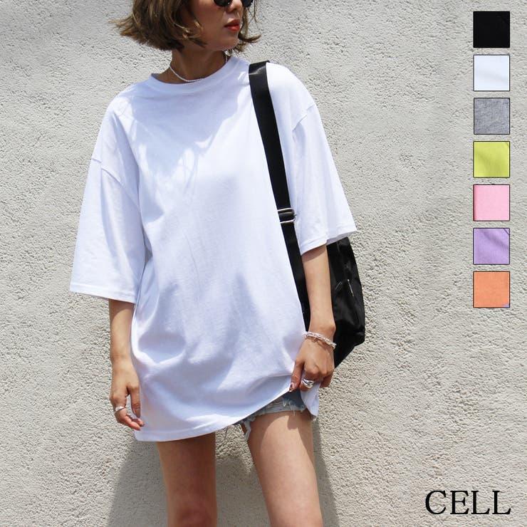 MYC10 無地カラービッグTシャツ | CELL | 詳細画像1