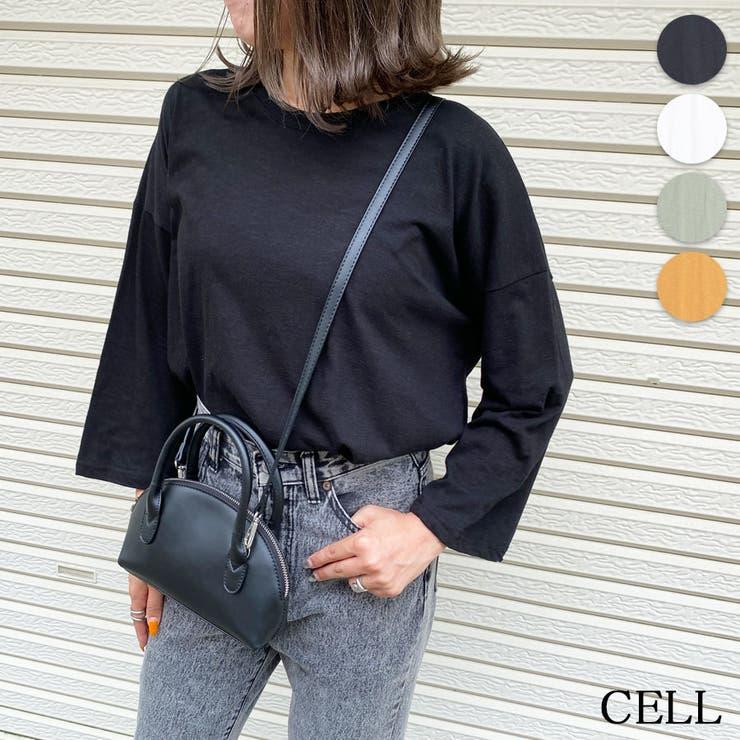 PGY23 スラブ七分袖Tシャツ   CELL   詳細画像1