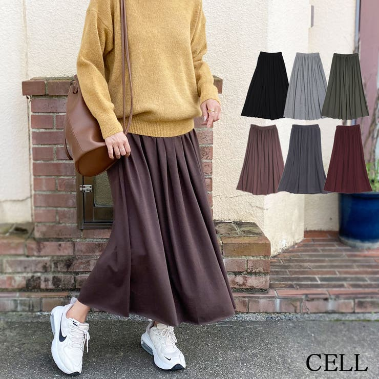 SJN30 SK カットオフロングスカート   CELL   詳細画像1