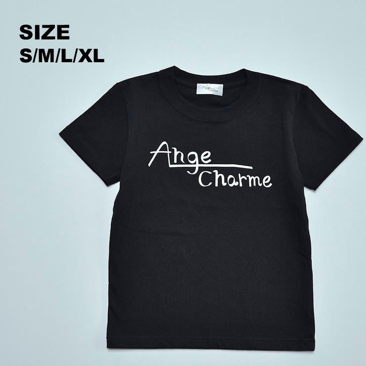 【大人用】オリジナルロゴTシャツ | Ange Charme | 詳細画像1