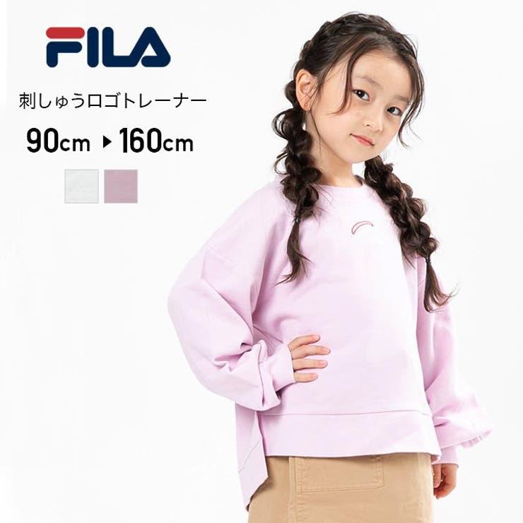 FILA/フィラ刺繍ロゴトレーナー | 詳細画像