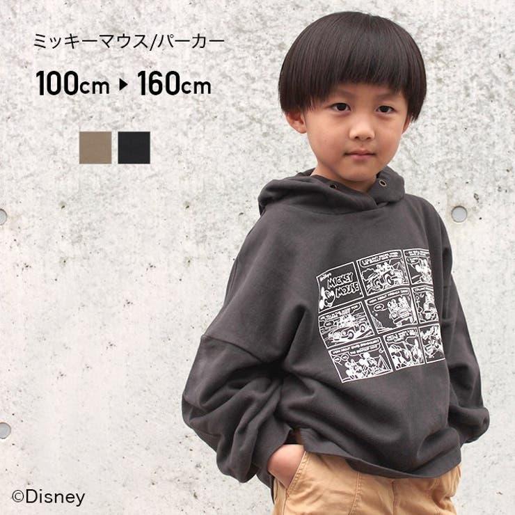 DISNEY/ミッキーマウス裏毛パーカー   詳細画像