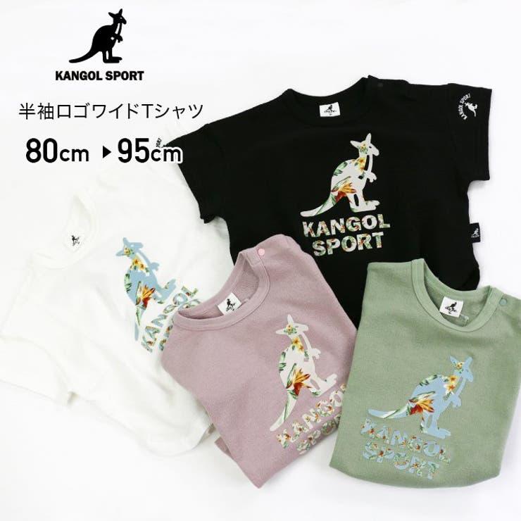 カンゴールスポーツ/半袖ロゴワイドTシャツ | 詳細画像
